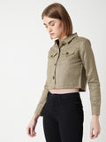 Engaging Ways Suede Jacket