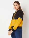 Truly Madly Rebel Colour-block Sweatshirt