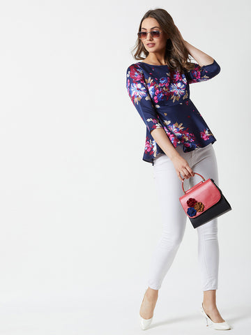 Who Do You Love Peplum Top