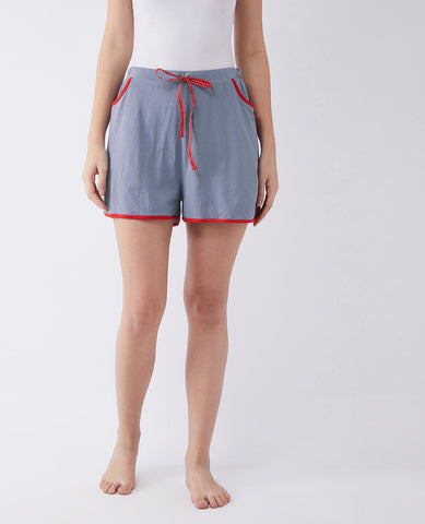 Tired Of Being Alone Solid Shorts