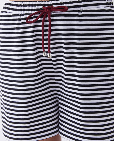 The Long Road Striped Shorts