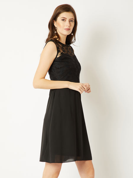 Reach For The Sky Skater Dress