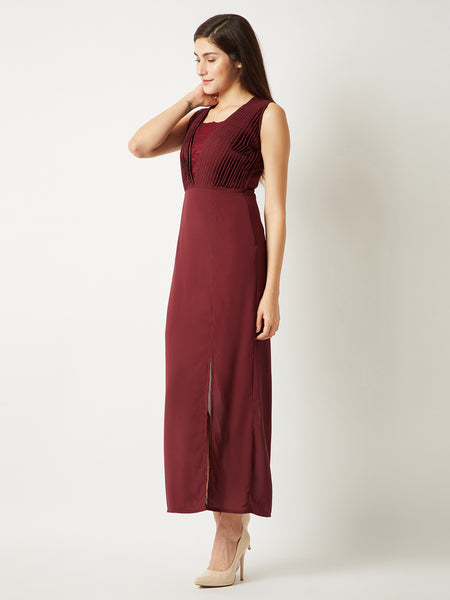 Benchmark Laced Maxi Dress