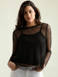 No Ordinary Love Sheer Top