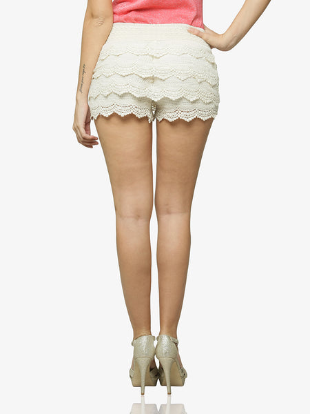 Hips Don't Lie Crochet Shorts