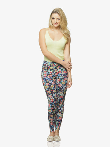 Just Like Spring Printed Jeggings