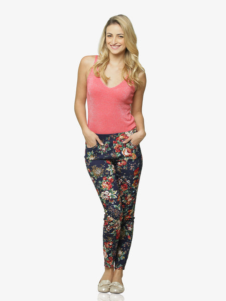 Midnight Magic Printed Jeggings