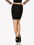 Dangerous Curves - Bodycon Skirt