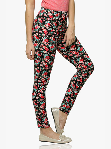 Feminine Appeal Printed Leggings