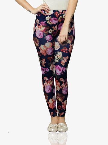 Oh So Fancy Printed Leggings