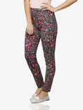 Bursts Of Colour Printed Leggings