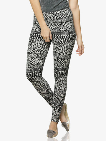 Totally Tribal Printed Leggings