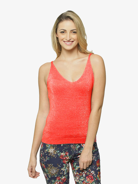 Shine On Glitter Tank Top
