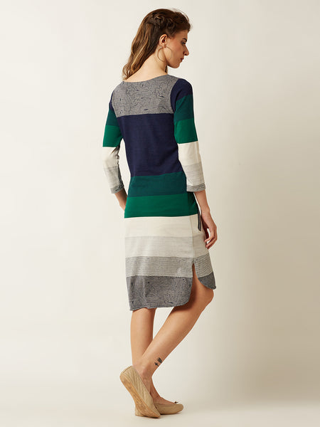 Stripe Her Down Shift Dress