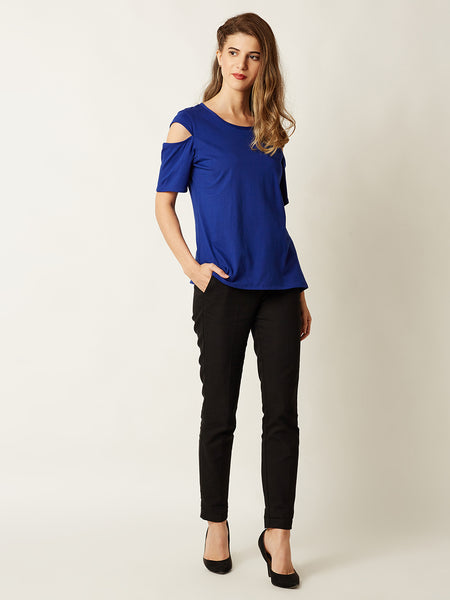 Flaunt Your Style With Cut Out Top