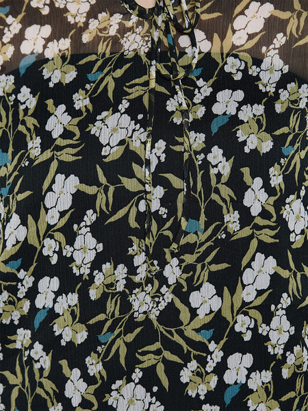 Flower To Flower Floral Top