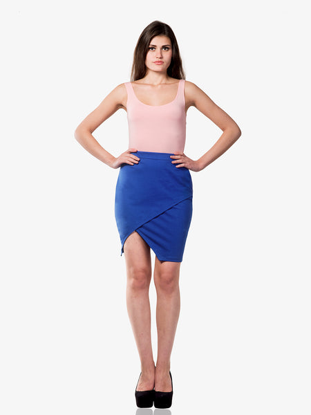 Cozy Cocoon Front Wrap Skirt