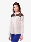 Stardom Lace Detail Shirt