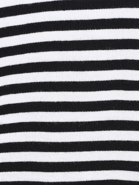 See Me Now Striped Shift Dress