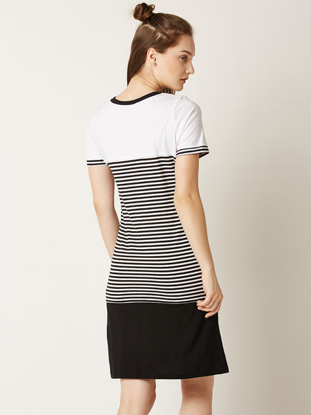 Double Time Striped Dress