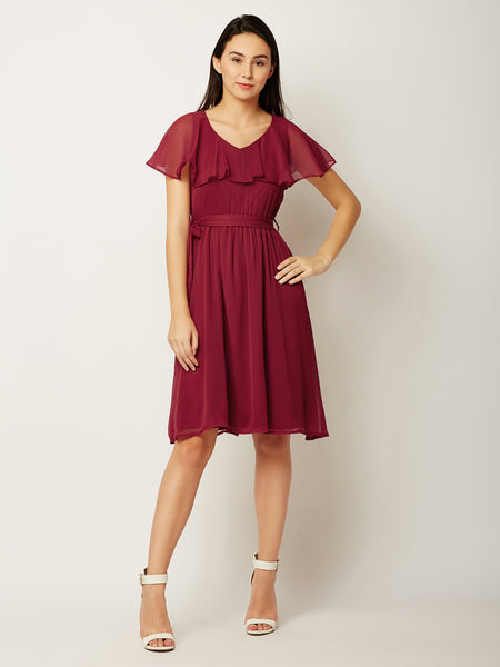 More Time To Wine Midi Dress