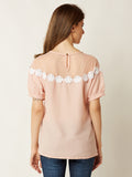 Cherry Bomb Sheer Lace Top