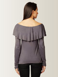 Glamorous Magic Ruffled Top