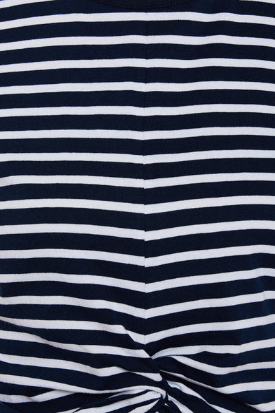 You Can Sell It Striped Twisted Top
