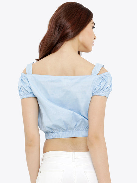 Don't Turn Back Crop Top