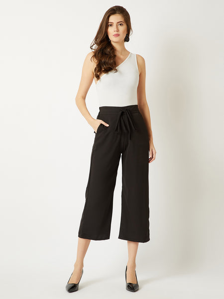 Shed A Light Belted Culottes