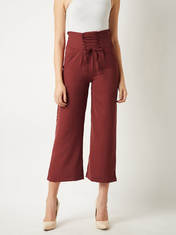 Hope Trumps All Waist Tie-Up Pant