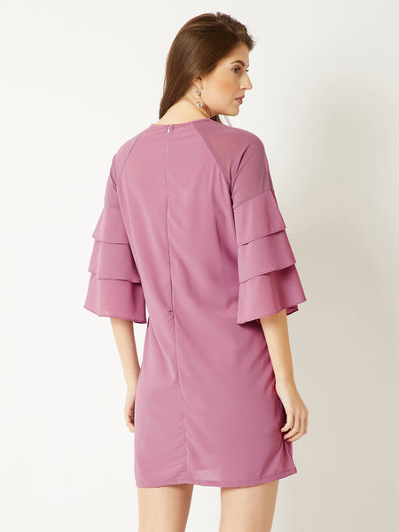 In These Arms Ruffle Dress