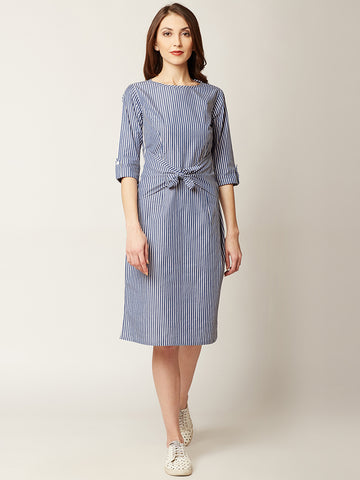 Wake Up Call Knot Dress