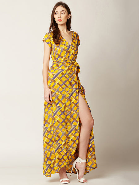 Cooler Than Cool Belted Wrap Dress