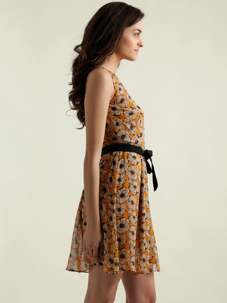 Wait For You Skater Dress