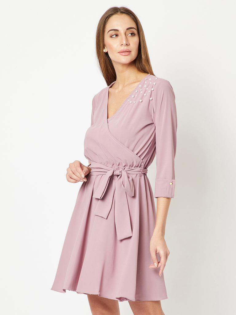 5f0208b595 Only Upto You Belted Wrap Dress – Miss Chase