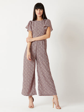 Build A Bridge Ruffle Jumpsuit