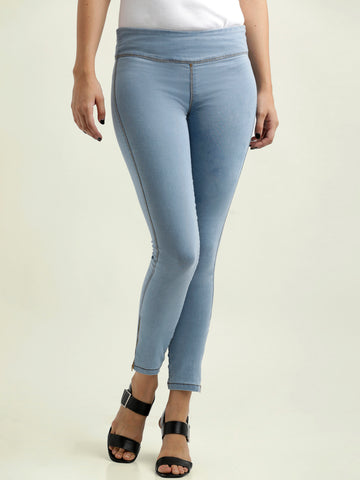 Cheap Thrills Skinny Jeggings Light blue