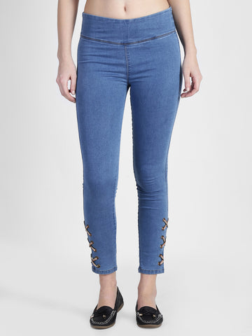 Found Better Criss Cross Jeggings