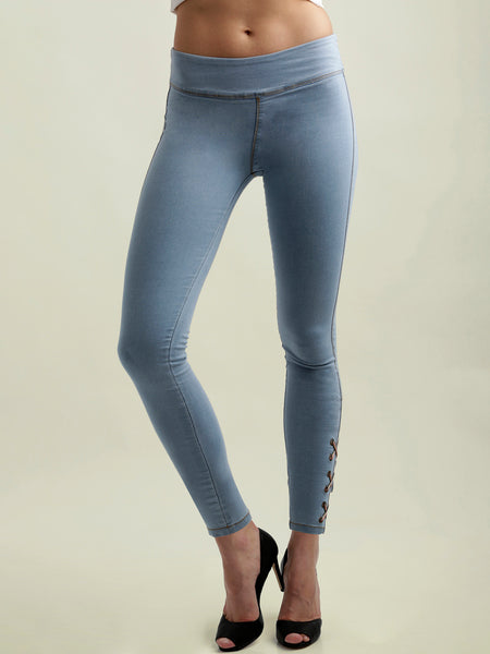 Summer Team Criss Cross Jeggings