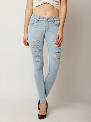 Like A Child Ripped Slim Jeans