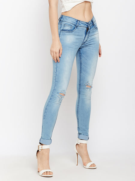 Editors Pick Ripped Skinny Jeans