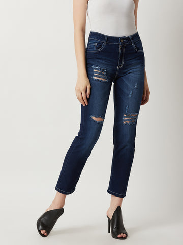 Lets Roll Slim High Rise Jeans