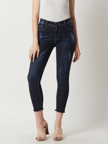 Travel Friendly Ripped Jeans