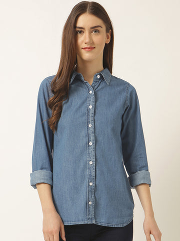 Be Here Now Denim Shirt