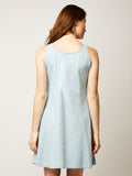Fight For Your Right Denim Dress Light Blue