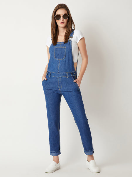 Dancing On My Own Denim Dungaree