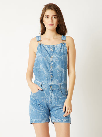 Keep It Cool Short Denim Dungaree