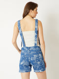 Needed Me Short Denim Dungaree