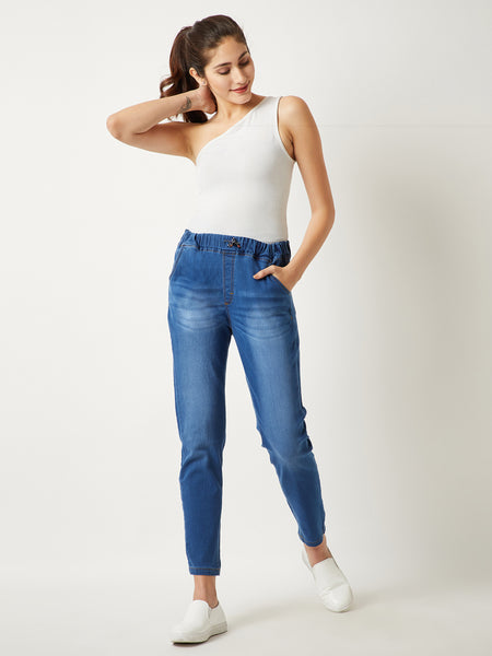Free People Distressed Joggers
